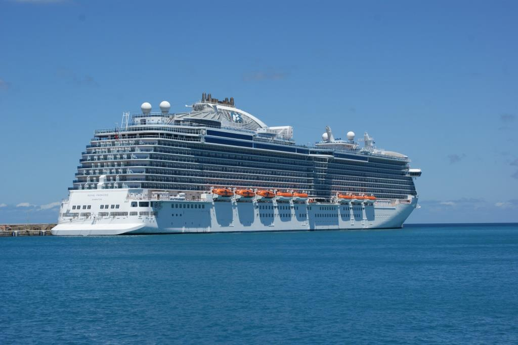 Royal Princess, Barbados