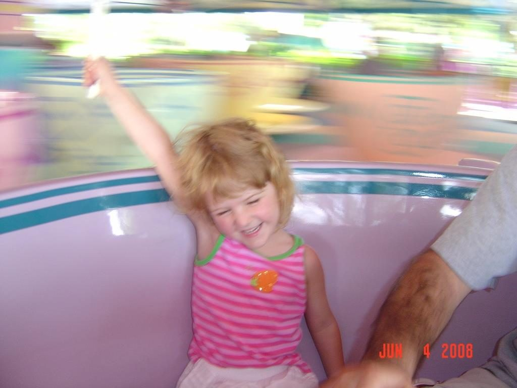Tea Cup Ride at Disney World