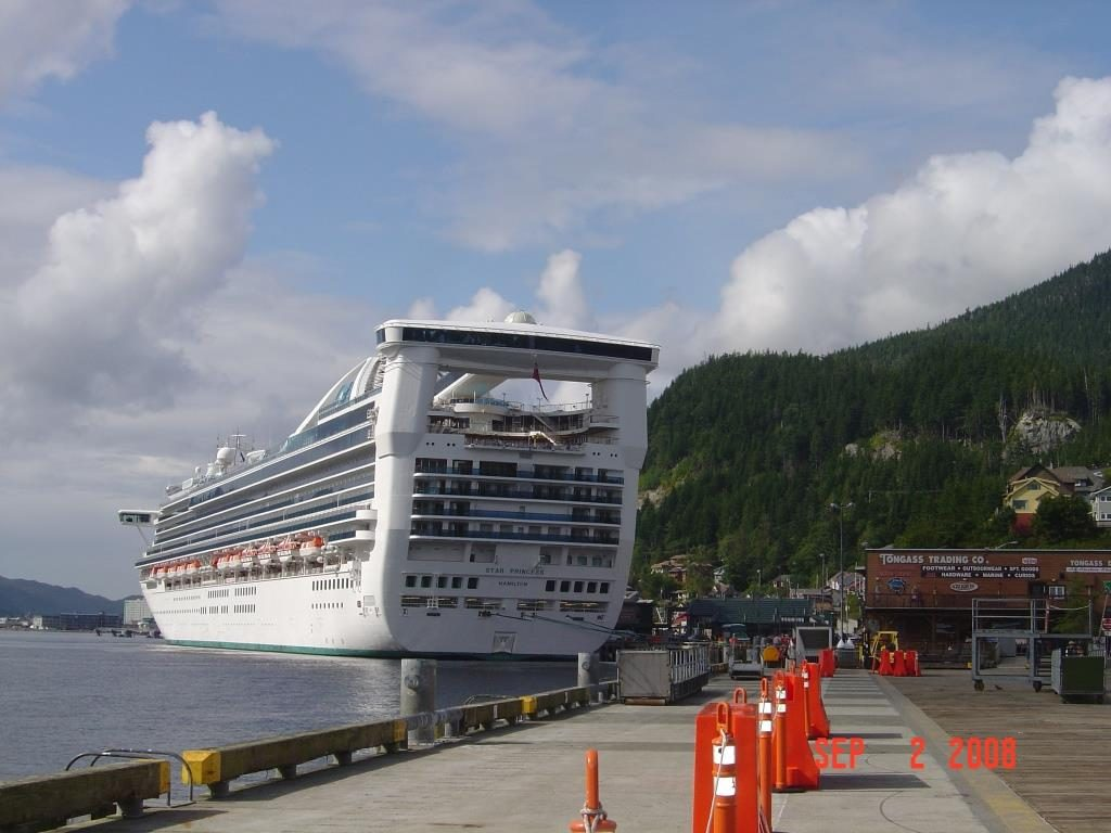 Star Princess in Ketchikan 2008